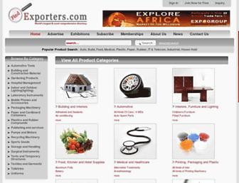 findexporters.com screenshot