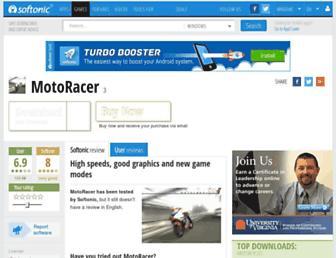 motoracer.en.softonic.com screenshot