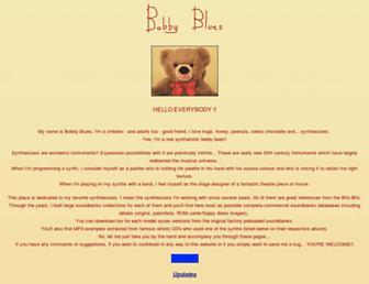 bobbyblues.recup.ch screenshot