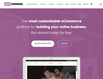 woocommerce.com screenshot