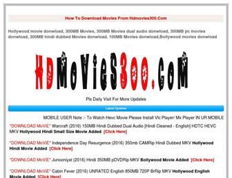 hdmovies300.com screenshot