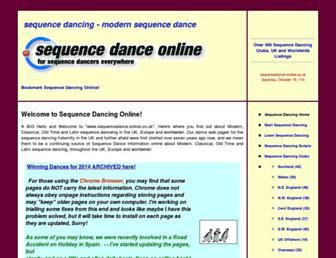 Thumbshot of Sequencedance-online.co.uk