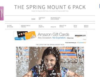 Thumbshot of Thespringmount6pack.com