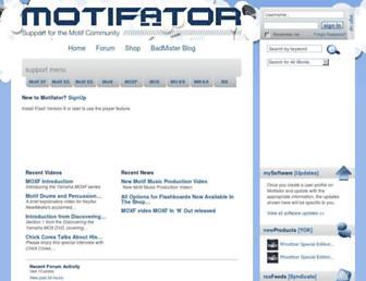 motifator.com screenshot