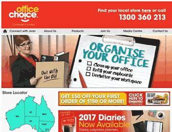 officechoice.com.au screenshot