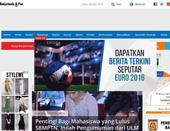 banjarmasin.tribunnews.com screenshot