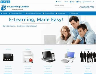 e-learningcenter.com screenshot