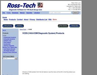 store.ross-tech.com screenshot