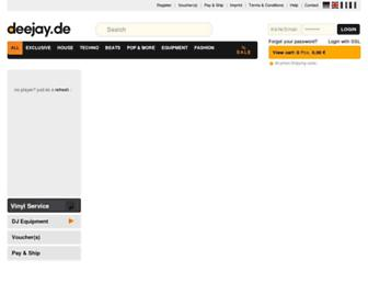 deejay.de screenshot