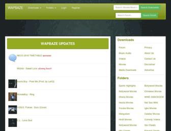 wapbaze.com screenshot