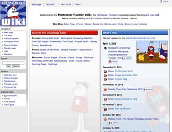 Main page screenshot of hrwiki.org