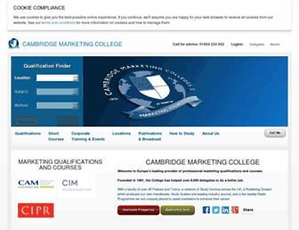 marketingcollege.com screenshot