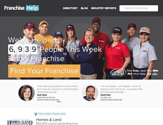 franchisehelp.com screenshot