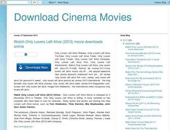 downloadcinemamovies0.blogspot.com screenshot