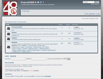 Thumbshot of Sub48.com