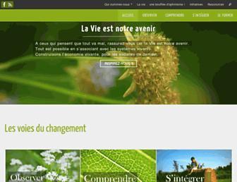 systemes-vivants.com screenshot