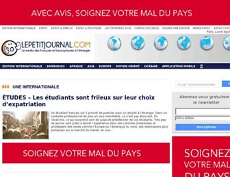 lepetitjournal.com screenshot