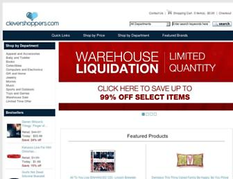 clevershoppers.com screenshot