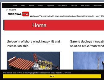 specialtv.info screenshot