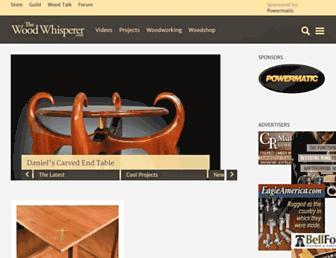 thewoodwhisperer.com screenshot