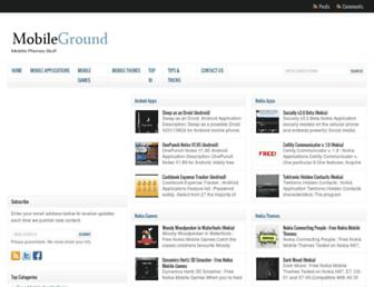 mobileground.net screenshot