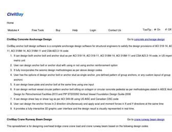asp.civilbay.com screenshot