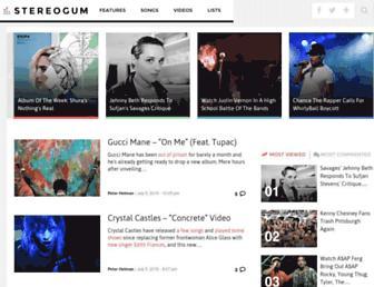 stereogum.com screenshot