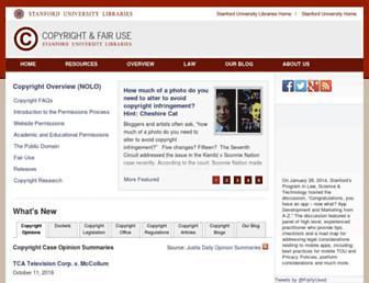fairuse.stanford.edu screenshot