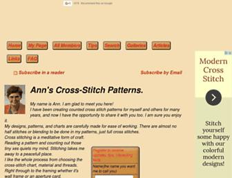 cross-stitch-pattern.net screenshot