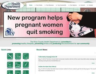 knoxhealth.com screenshot