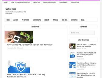 Thumbshot of Sarkarzone.com