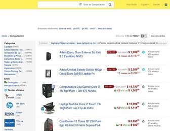 computacion.mercadolibre.com.mx screenshot