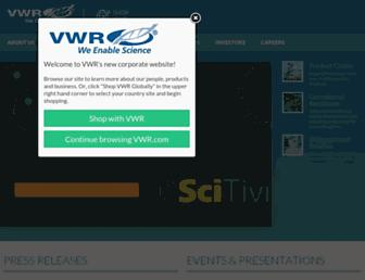 Thumbshot of Vwr.com