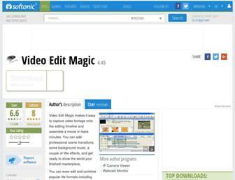 video-edit-magic.en.softonic.com screenshot