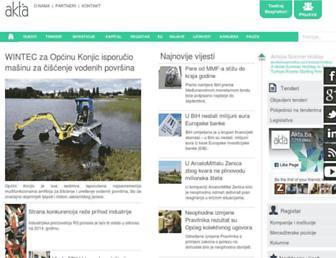 akta.ba screenshot