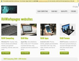 rawinfopages.com screenshot