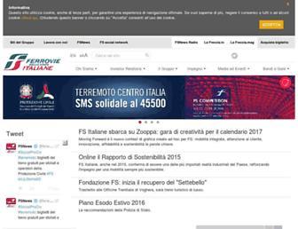 Main page screenshot of fsnews.it