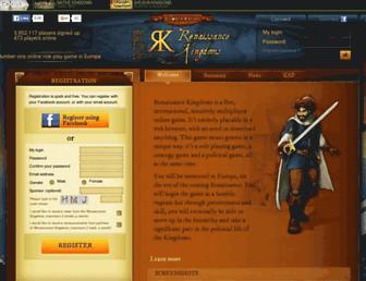 Thumbshot of Renaissancekingdoms.com