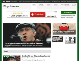 blogobisnis.com screenshot