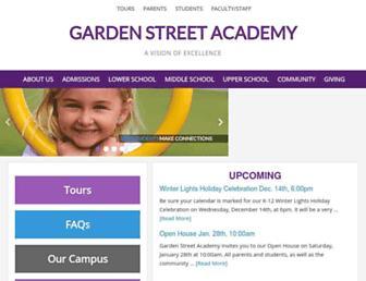 Thumbshot of Gardenstreetacademy.org