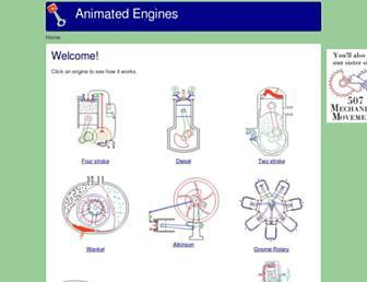 animatedengines.com screenshot
