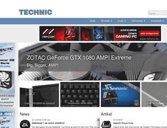 technic3d.com screenshot