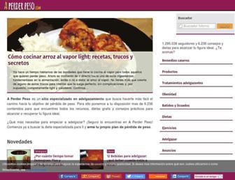 aperderpeso.com screenshot