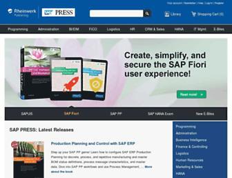 Thumbshot of Sap-press.com