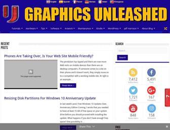 graphics-unleashed.com screenshot