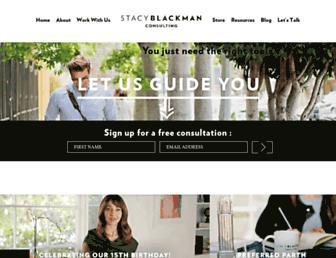 stacyblackman.com screenshot