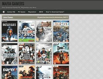 mafia-gamers.blogspot.com screenshot