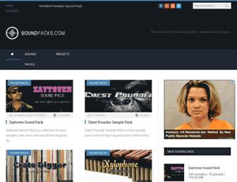 soundpacks.com screenshot