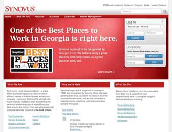 Thumbshot of Synovus.com