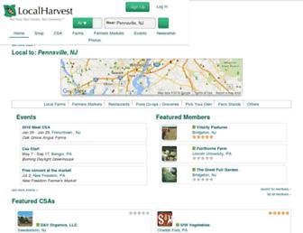 Thumbshot of Localharvest.org